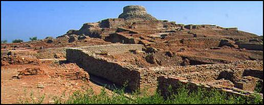 The ruins of Mohenjo Daro