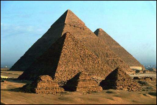 Le piramidi di Giza - The pyramids at Giza