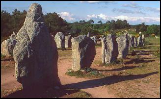 Menhirs at Carnac (France)