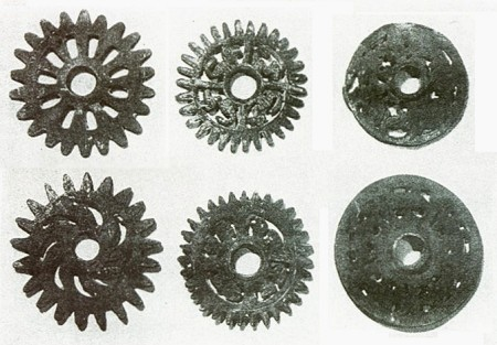 Peru bronze wheels